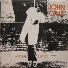 Discos de vinilo: JOHN CALE. ANIMAL JUSTICE. ILLEGAL RECORDS 1977. Lote 175391299
