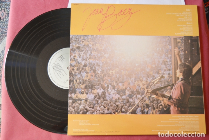 Discos de vinilo: JOAN BAEZ - TOUR EUROPEA - LP - Foto 2 - 175392955