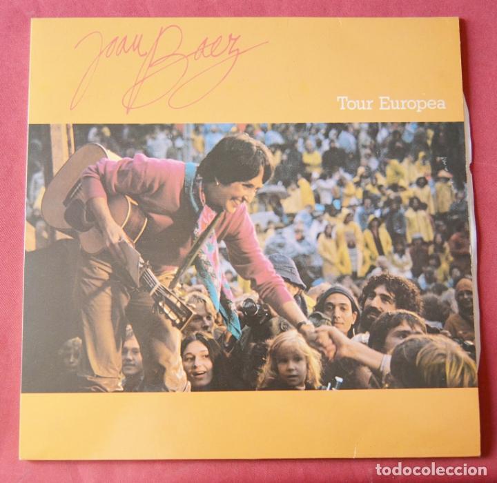 JOAN BAEZ - TOUR EUROPEA - LP (Música - Discos - LP Vinilo - Cantautores Extranjeros)