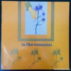 Discos de vinilo: XESCO BOIX – LA FLOR ROMANIAL PDI  C-30509 LP 1984 VINILO EXCELENTE. Lote 175395748