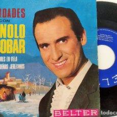 Discos de vinilo: SINGLE MONOLO ESCOBAR - NAVIDADES CON MANOLO ESCOBAR, 1965, BELTER – 07-227, (VG+_VG+). Lote 175396104