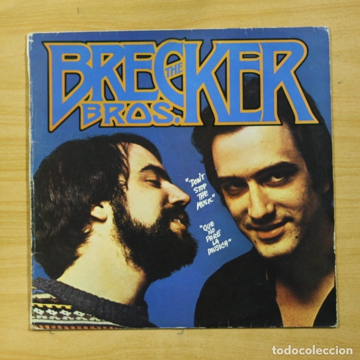 THE BRECKER BROS - DON´T STOP THE MUSIC - LP (Música - Discos - LP Vinilo - Jazz, Jazz-Rock, Blues y R&B)
