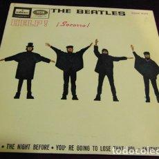 Discos de vinilo: THE BEATLES - HELP - EP 1965. Lote 175403535