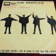 Discos de vinilo: THE BEATLES – HELP! + 3 - EP 1965. Lote 175403608