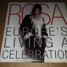 Discos de vinilo: ROSA EUROPE´S LIVING A CELEBRATION CD SINGLE PROMOCIONAL DE CARTON AÑO 2002 TEMA FESTIVAL EUROVISION. Lote 252268080