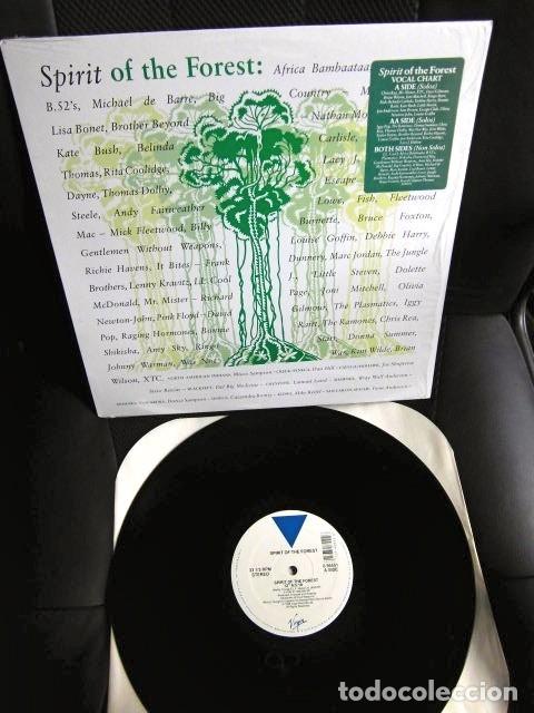 BEATLES RINGO STARR PARTICIPACION MAXI SINGLE ORIGINAL 1989 NUEVO SPIRIT OF THE FOREST (Música - Discos de Vinilo - Maxi Singles - Pop - Rock - New Wave Extranjero de los 80)