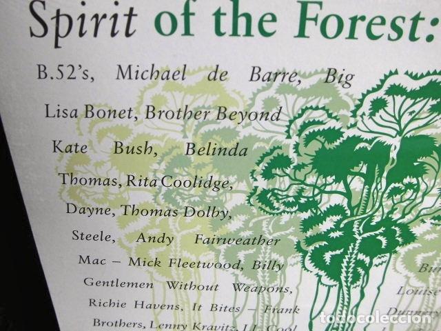 Discos de vinilo: BEATLES RINGO STARR PARTICIPACION MAXI SINGLE ORIGINAL 1989 NUEVO SPIRIT OF THE FOREST - Foto 3 - 175412028