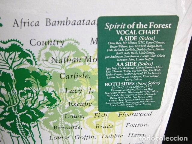 Discos de vinilo: BEATLES RINGO STARR PARTICIPACION MAXI SINGLE ORIGINAL 1989 NUEVO SPIRIT OF THE FOREST - Foto 4 - 175412028