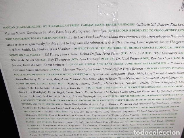 Discos de vinilo: BEATLES RINGO STARR PARTICIPACION MAXI SINGLE ORIGINAL 1989 NUEVO SPIRIT OF THE FOREST - Foto 7 - 175412028