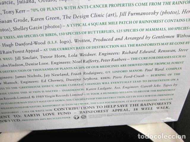 Discos de vinilo: BEATLES RINGO STARR PARTICIPACION MAXI SINGLE ORIGINAL 1989 NUEVO SPIRIT OF THE FOREST - Foto 8 - 175412028