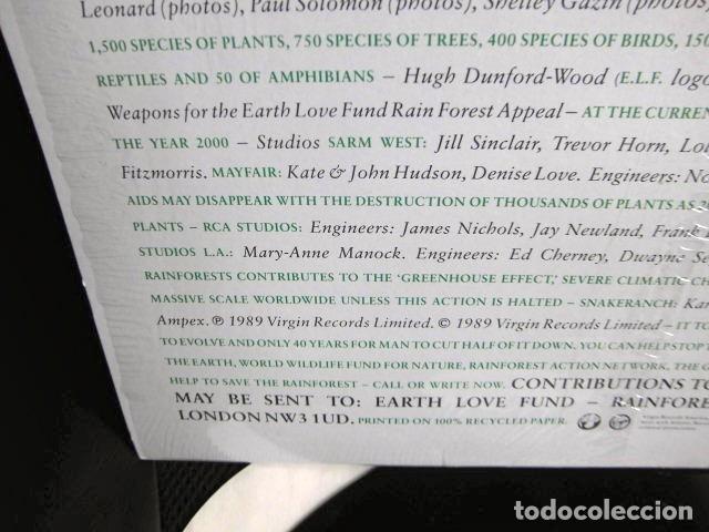Discos de vinilo: BEATLES RINGO STARR PARTICIPACION MAXI SINGLE ORIGINAL 1989 NUEVO SPIRIT OF THE FOREST - Foto 9 - 175412028