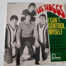 Discos de vinilo: LES TROGGS- I CAN´T CONTROL MYSELF - FRENCH EP 1966.. Lote 175412975