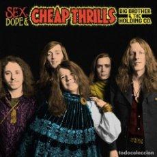 Discos de vinilo: 2LP BIG BROTHER & THE HOLDING CO. SEX DOPE & CHEAP THRILLS VIINILO JANIS JAPLIN. Lote 175420430