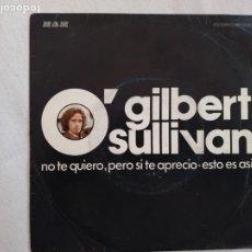 Discos de vinilo: GILBERT O'SULLIVAN.SINGLE. Lote 175421590