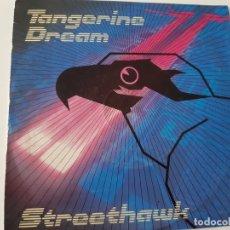 Discos de vinilo: TANGERINE DREAM- STREETHAWK- SPAIN PROMO SINGLE 1985- VINILO COMO NUEVO.. Lote 175428229