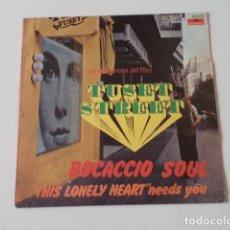 Discos de vinilo: SINGLE BANDA SONORA DEL FILM TUSET STREET - ORQUESTA DIRIGIDA POR AUGUSTO ALGUERÓ. Lote 182629070