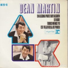 Dischi in vinile: DEAN MARTIN - SOMEWHERE THERE'S A SOMEONE - EP DE VINILO EDICION ESPAÑOLA. Lote 175434940