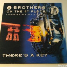 Discos de vinilo: 2 BROTHERS ON THE 4TH FLOOR FEATURING DES'RAY & D-ROCK - THERE'S A KEY. Lote 175444230