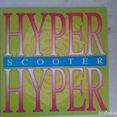Discos de vinilo: SCOOTER HYPER HYPER MAXI BLANCO Y NEGRO 1994. Lote 175447335