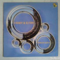 Discos de vinilo: DJ SKAKY & DJ TORRE RIVERS OF BABYLONMAXI BIT RECORDS 2001. Lote 175449140