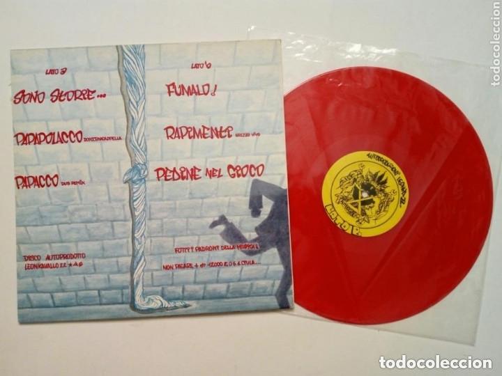 Discos de vinilo: LP : LION HORSE POSSE - Vivi e Diretti (Leonkavallo 22, 1992) Vinilo en color rojo - Hip Hop - Punk - Foto 2 - 175450660