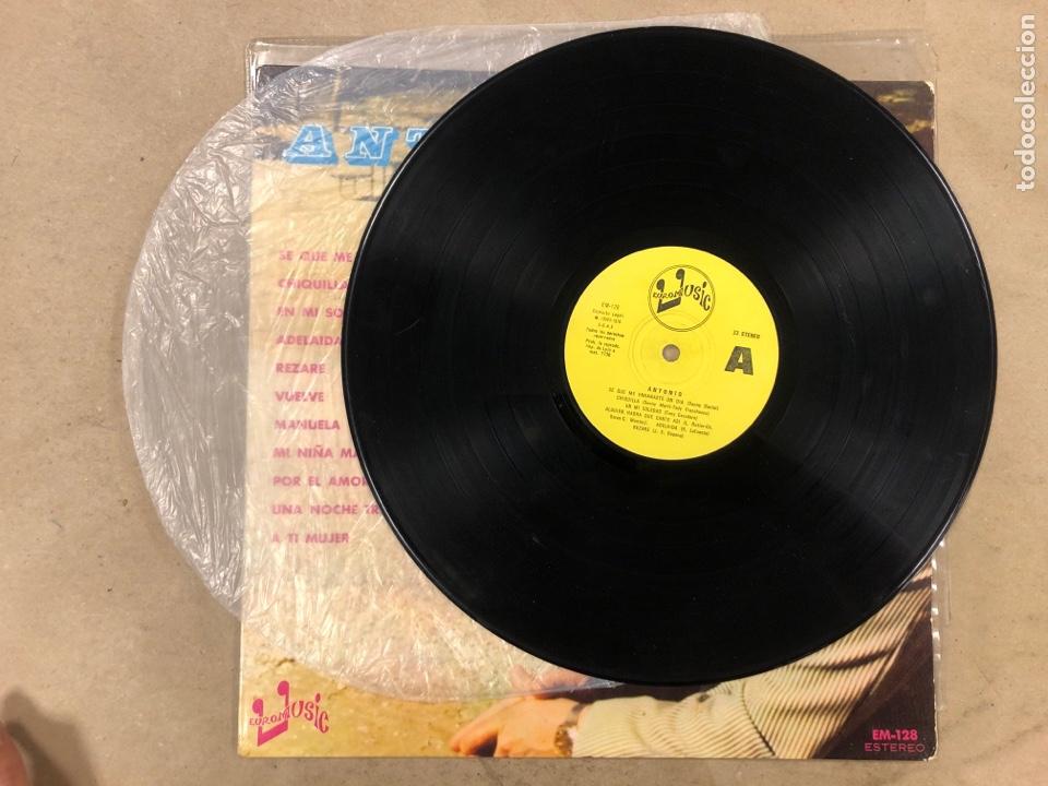 Discos de vinilo: -L.P. VINILO - ANTONIO (EUROMUSIC 1976). RAREZA, DIFÍCIL DE CONSEGUIR. - Foto 3 - 175454575