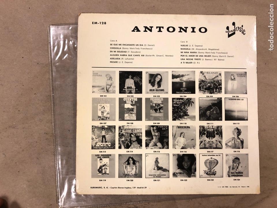 Discos de vinilo: -L.P. VINILO - ANTONIO (EUROMUSIC 1976). RAREZA, DIFÍCIL DE CONSEGUIR. - Foto 4 - 175454575