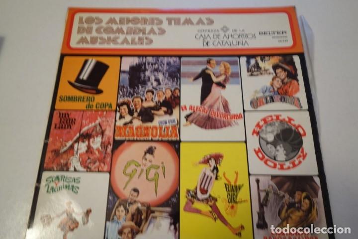 DISCO VINILO. LOS MEJORES TEMAS DE COMEDIAS MUSICALES. (Música - Discos de Vinilo - Maxi Singles - Otros estilos)