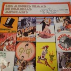 Discos de vinilo: LOS MEJORES TEMAS DE COMEDIAS MUSICALES.. Lote 175467750