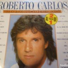 Discos de vinilo: DISCO VINILO. ROBERTO CARLOS 2 DISCOS.. Lote 175467827