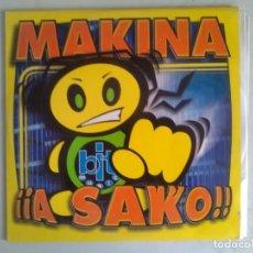 Discos de vinilo: MAKINA A SAKO BIT RECORDS2000. Lote 175474294