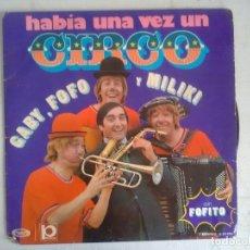 Discos de vinilo: GABY, FOFO Y MILIKI HABIA UNA VEZ UN CIRCO LP MOVIEPLAY 1973. Lote 175476680