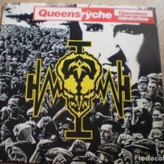 Discos de vinilo: LP. QUENNSRYCHE. OPERATION: MINDCRIME. AÑO 1988. ENCARTE LETRAS. BUENA CONSERVACION. Lote 175477045