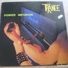 Discos de vinilo: LP. TRANCE. POWER INFUSION. ENCARTE LETRAS. MUY BUENA CONSERVACION. Lote 175478234