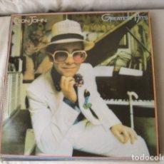 Discos de vinilo: ELTON JOHN GREATEST HITS. Lote 175481372