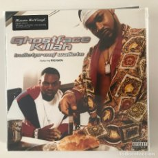 Discos de vinilo: GHOSTFACE KILLAH - BULLETPROOF WALLETS (2001) - LP DOBLE REEDICIÓN MUSIC ON VINYL 2016 NUEVO. Lote 175486712