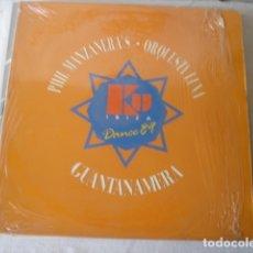 Discos de vinilo: PHIL MANZANERA / ORQUESTA LUNA KU DANCE 89. Lote 175501287