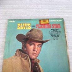 Discos de vinilo: ELVIS SINGS FLAMING STAR. Lote 175502897