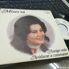 Discos de vinilo: MINERVA SINGLE PROMOCIONAL AMIGO MÍO 1971. Lote 175504752