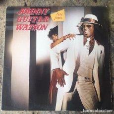 Discos de vinilo: JOHNNY GUITAR WATSON - LOVE JONES . LP . 1980 GERMANY. Lote 175506909