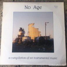 Discos de vinilo: NO AGE - A COMPILATION OF SST INSTRUMENTAL MUSIC . DOBLE LP . 1987 USA . Lote 175507080