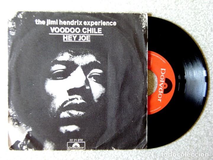 JIMI HENDRIX.VOODOO CHILE/HEY JOE (Música - Discos - Singles Vinilo - Grupos Españoles 50 y 60)