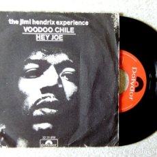 Discos de vinilo: JIMI HENDRIX.VOODOO CHILE/HEY JOE. Lote 175509257