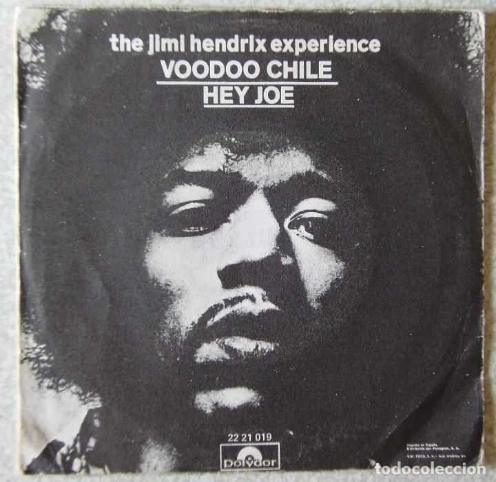 Discos de vinilo: JIMI HENDRIX.VOODOO CHILE/HEY JOE - Foto 2 - 175509257