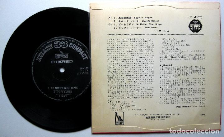Discos de vinilo: T-Bones - Sippin n Chippin +3 - EP Liberty 1966 Japan SURF (Edición Japonesa) BPY - Foto 2 - 175514074