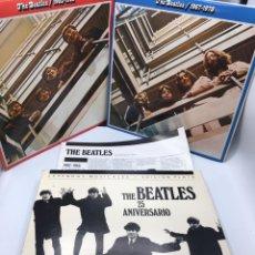 Discos de vinilo: THE BEATLES - 25 ANIVERSARIO - 1962-1966 / 1967-1970 - CAJA EDICION ESPECIAL CIRCULO DE LECTORES. Lote 175514545