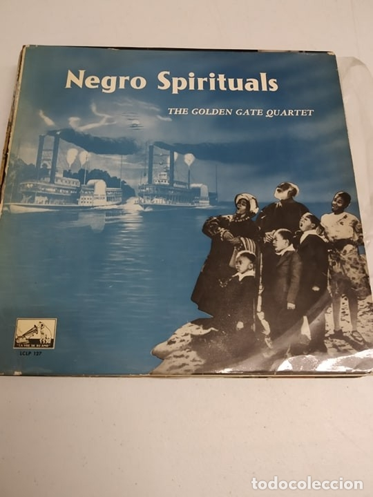 THE GOLDEN GATE QUARTET ‎– NEGRO SPIRITUALS (Música - Discos - LP Vinilo - Jazz, Jazz-Rock, Blues y R&B)