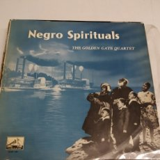 Discos de vinilo: THE GOLDEN GATE QUARTET ‎– NEGRO SPIRITUALS . Lote 175515314