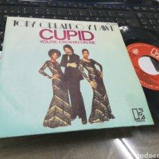 Discos de vinilo: TONY ORLANDO Y DAWN SINGLE CUPID ESPAÑA 1976 RAREZA. Lote 175533697