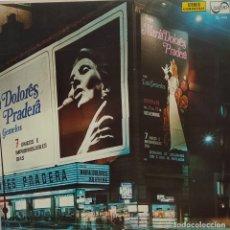 Discos de vinilo: • MARÍA DOLORES PRADERA 7 DIAS. / LP ZAFIRO 1974. Lote 175534552